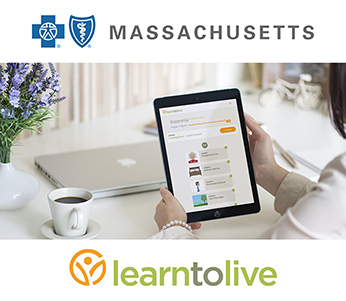 Blue Cross Blue Shield of Massachusetts Adds Learn to Live's Digital Behavioral Health Solution to Its Emerging Solutions Portfolio
